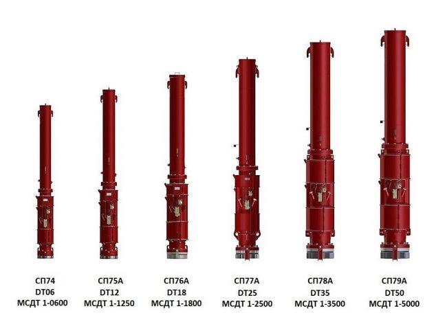 МСДТ1-1250 / DT12 / СП-75А