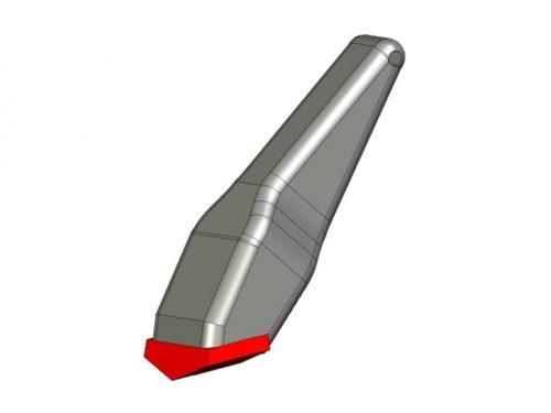 Резец БЛ-50.00.010 (РБМ-35)